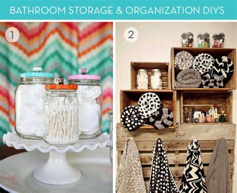 bathroom organization ideas diy roundup 9 diy bathroom organization and storage ideas