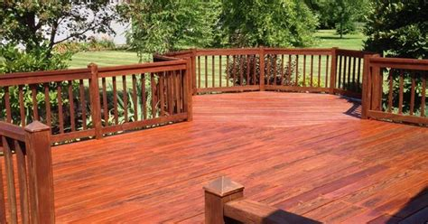 deck stained  cabot australian timber oil