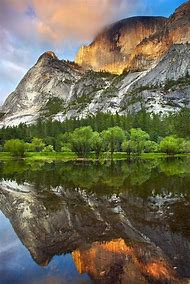 Mirror Lake Yosemite National Park California