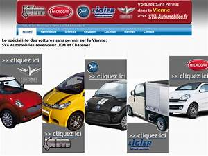 Concessionnaire Chatenet : voitures sans permis concessionnaire jdm et chatenet ~ Gottalentnigeria.com Avis de Voitures