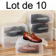 Boite à Chaussures Transparentes : hommes dames bottes bo te de rangement chaussures ~ Dailycaller-alerts.com Idées de Décoration