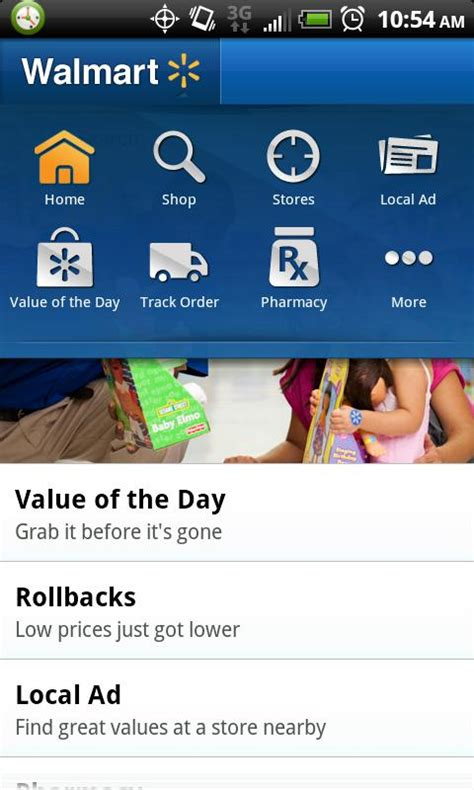 walmart app for android walmart officially hops on the android app