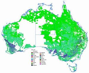 Australia Natural Resources Map