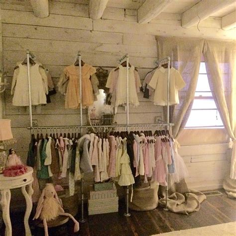 boutique closet ideas vintage shabby chic lily s cabin nursery home design and interior