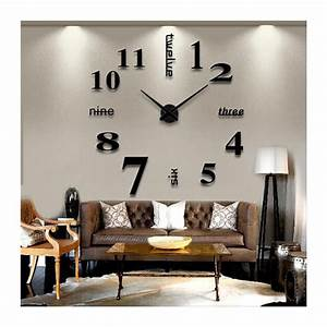 Buy DIY 3D Acrylic Wall Clock I-102 at Elifor pk