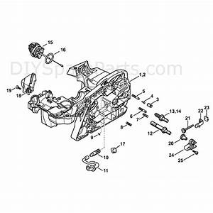 Stihl Ms 391 Chainsaw  Ms391  Parts Diagram  Engine Housing