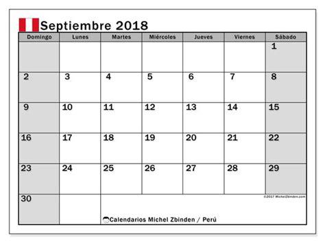 calendario septiembre peru michel zbinden es