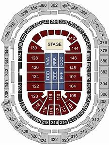 Pepsi Center  Denver  Co - Seating Chart  U0026 Stage