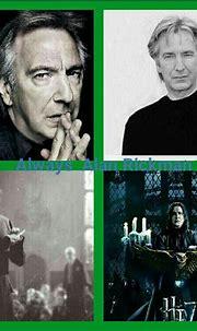 Always Alan Rickman ⚡💚 | Alan rickman severus snape, Alan ...