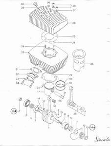 Vintage Roost  175 Rotax Engine Seal  Gasket