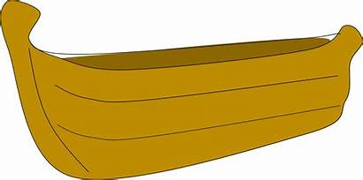 Boat Clipart Cartoon Clip Wooden Cliparts Boats
