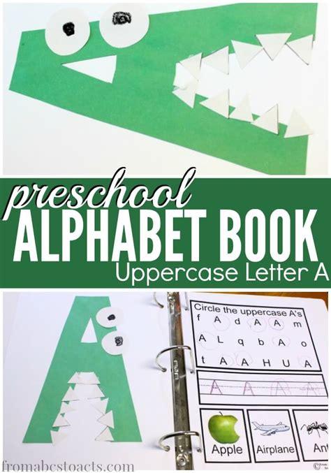 preschool alphabet book uppercase a from abcs to acts 219 | preschool alphabet book uppercase letter a