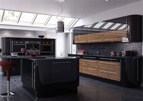 Ultra Modern And Sleek Black And Wood Kitchens   Page 3 of 3