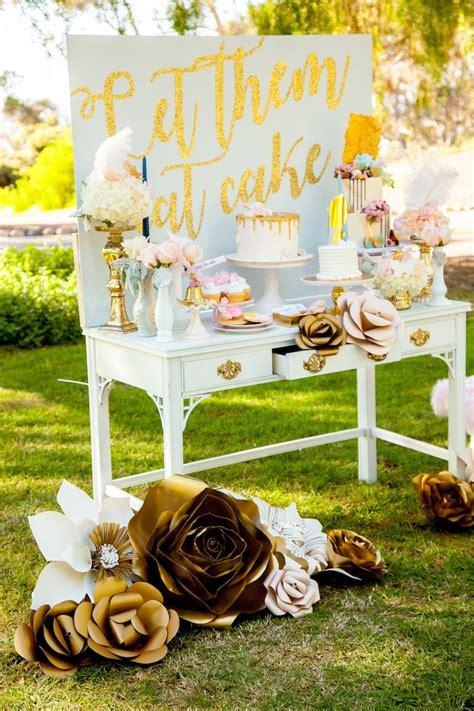 Kara's Party Ideas Marie Antoinette Inspired Bridal Shower
