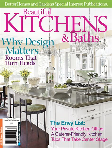 Kitchen Designs By Ken Kelly In Better Homes & Gardens