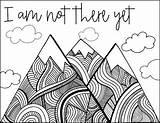 Mindset Growth Coloring Pages Sheets Quotes Posters Quote Printables Activities Learning Grade Teaching 2b sketch template