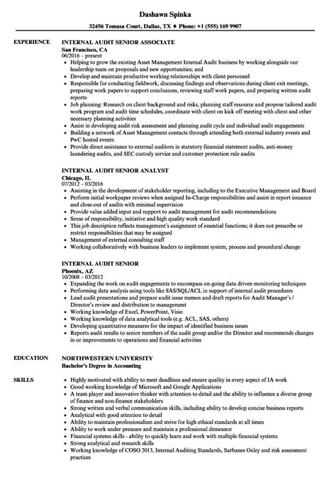external auditor sle resume fashion product manager
