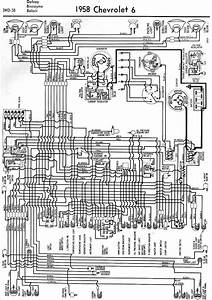 1958 Chevrolet Wiring Diagrams