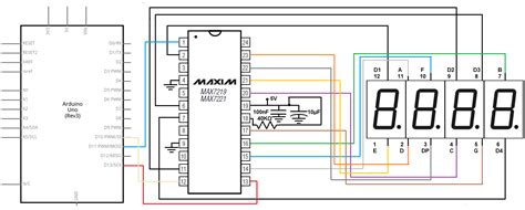 How Control Digit Segment Led Display With