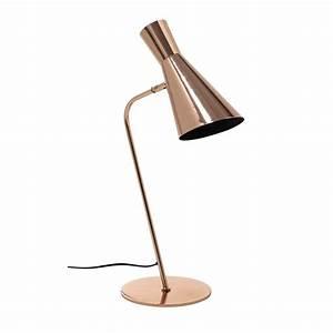 Lampe De Bureau Cuivre : lampe de bureau en m tal cuivr h 61 cm harris copper ~ Teatrodelosmanantiales.com Idées de Décoration