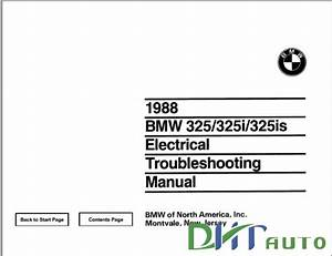 Troubleshooting Manual   325i  325is 1988