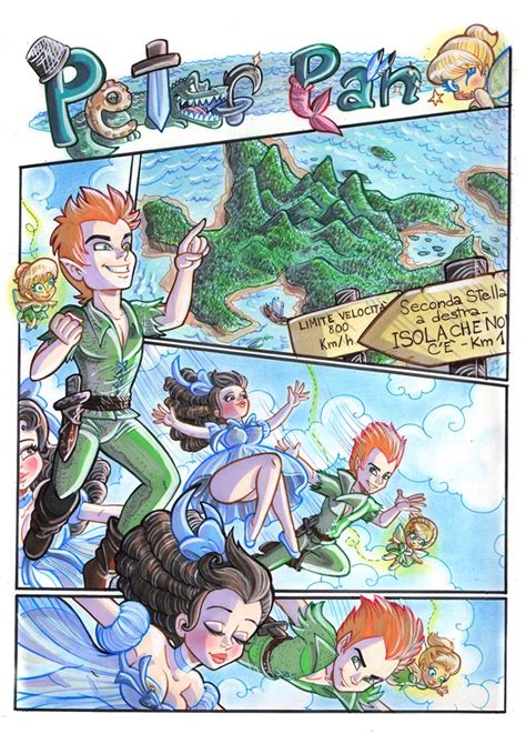 A Page Of Sexy Tales Peter Pan By Xevilangelx On Deviantart