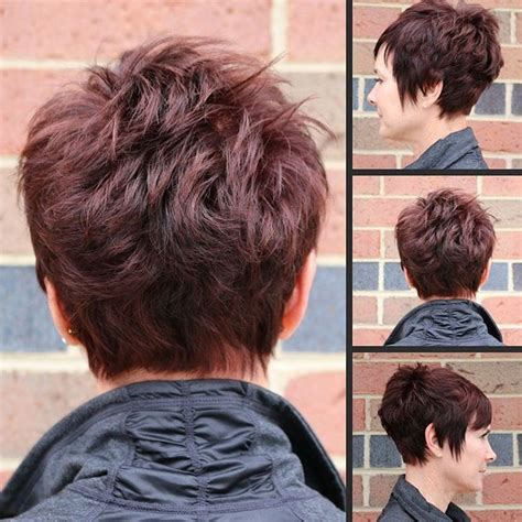 Pixie Stacked Hairstyles by S Classic Stacked Choppy Pixie