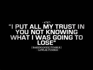 Can 39 t Trust Friends Quotes