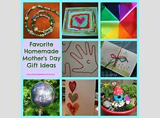 the art photo Homemade Mother's Day Gift Ideas