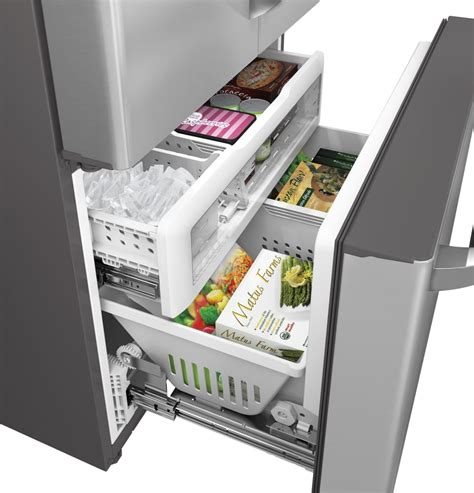 ge cafe counter depth refrigerator ge cwe23sshss 36 inch counter depth door with