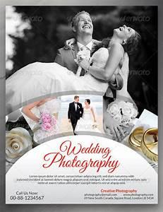 Wedding flyers design free yourweek c099b6eca25e for Templates for wedding photographers