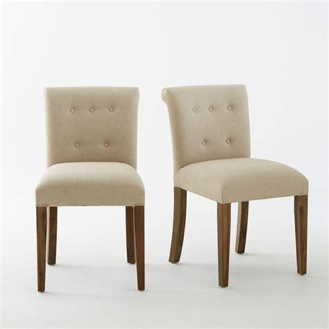 la redoute chaises salle a manger chaise dossier capitonn 233 ad 233 lia lot de 2 la redoute interieurs la redoute