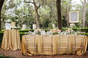 Fresh Southern Peach and Gold Wedding Inspiration Every