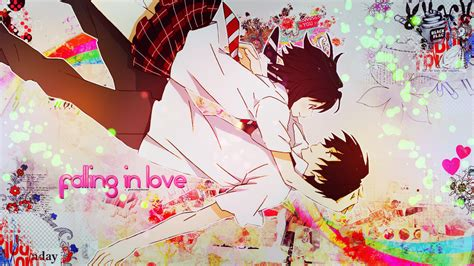 wallpaper random anime couple  preciousclover
