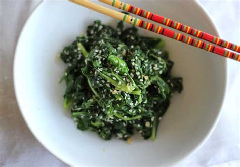 cooking kale how to cook kale kale with garlic sesame video recipe