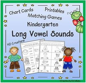 Kindergarten Long Vowel Sou By Kd Creations Teachers