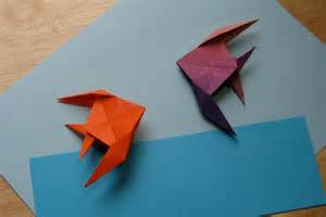 How to Make Paper Origami Fish
