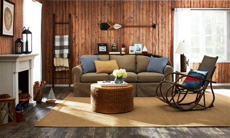 lake house living room lake house decor a cottage style family favorite