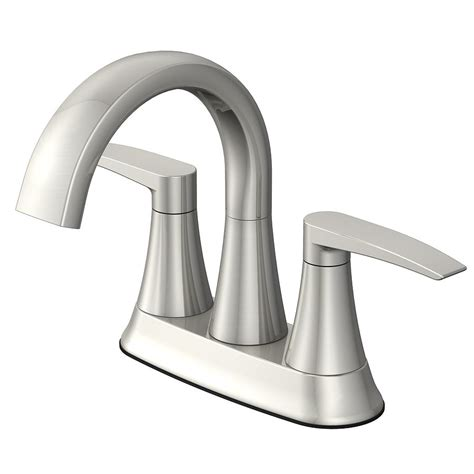 faucet for sink in bathroom jacuzzi lyndsay 2 handle 4 in centerset watersense