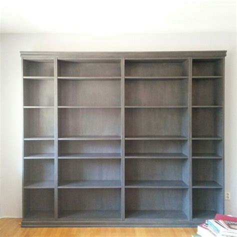 ikea billy makeover sloan chalk paint graphite