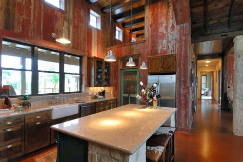 ranch kitchen design rustic ranch house designed for family gatherings in 1720