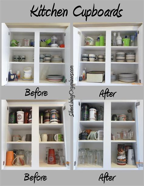Lining Kitchen Cupboards silver lining organizers llc organized kitchen cupboards