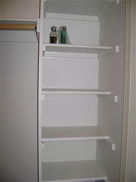 do it yourself wood closet shelving ehow uk