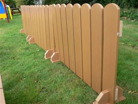 picket fence panels recycled plastic wood education