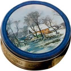 currier  ives cookie tin findgiftcom