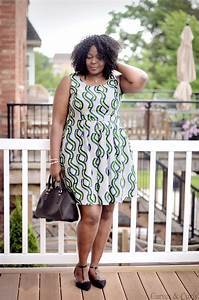 Plus Size African Print Dress - My Curves And Curls