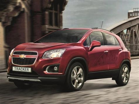 chevrolet tracker   technical specifications