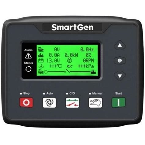 smartgen sedemac genset controller 12 v dc ip rating
