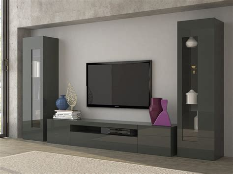 mobile sala moderno mobile soggiorno tower porta tv e vetrine moderne soggiorno