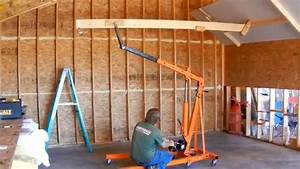 Low Cost DIY Drywall Lift - YouTube
